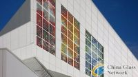 Lux Gloria The Solar-Stained Glass Installment to Be Connected Its Electrical Grid