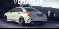 Sony Playsation 4 Has Offered The First Image of The New Mercedes-Benz CLA45 AMG