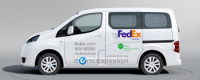 FedEx Express Test The Carmaker'S e-NV200 EV in July