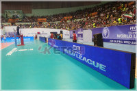LED Displays Supports Volleyball World League