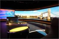 Broadcast Studio Backdrop Display's LED Display Technology Goes to Ultra HD Era