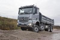 Mercedes-Benz Has Announced The Arocs Construction Trucks in Germany