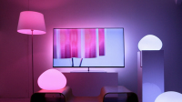 Ambilight Uses Multi-Color LEDs Around The Frame of The TV to Project Light Around The Set