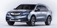 Acura Has Unveiled The Mdx Prototype at The 2013 Detroit Auto Show