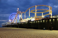 LED Lamps Helps Santa Monica Pier and Carousel Building Conserve Energy by More Than 30%