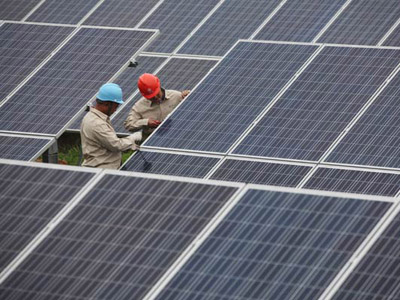 Solar Firms Search for Light at The End of Tunnel