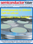 Latest Issue of Semiconductor Today Now Available