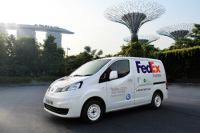 Nissan Has Partnered with FedEx Express to Conduct Field Tests in Singapore