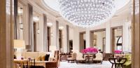 Chafik Gas's Two Ton Fullmoon Baccarat Chandelier in Corinthia Hotel