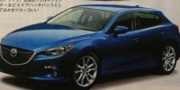 Images Revealed The Design of The All-New Mazda 3 Have Appeared in Japanese Magazine