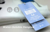 Water-Soluble Hangtag for Our Dailylife