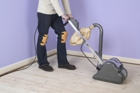 Improperly Sanding a Hardwood Floor Can Pose a Fire Risk
