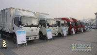 FAW Jiefang Promoted J6f Light Truck Superior Product Quality and Excellent Performance