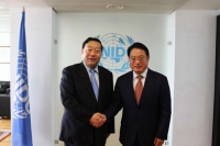 Liu Zhenya Met with UNIDO Director General Li Yong