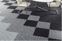 Structured Loop Textile Is Explored with Two New Floor Covering Collections From Milliken