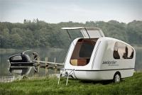 Amphibious Camping Recreation Vehicle