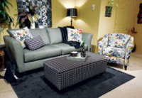 Camouflage and Color Splashes Lit up The Showrooms at The Summer Tupelo Furniture Market
