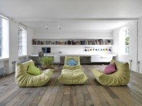 HI-MACS Turned This Loft Into The Ideal Environment for Living and Working
