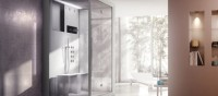 Jacuzzi Launches a New Shower Where Beautiful Design Is Combined with Light Therapy