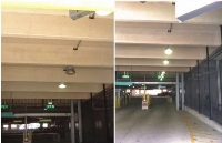 Maxlite Supplied LED Canopy Fixtures to Light Parking Authority Multi-Deck Garages