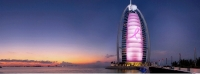 Dubai's Burj Al Arab Joins a Number of World Famous Landmarks