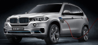 The BMW X5 Edrive Concept with All-Wheel-Drive and Hybrid Technology Has Been Revealed