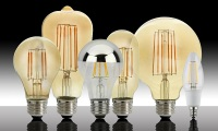 MaxLite's LED Filament Lamps Cuts Energy Bill with Retro Look
