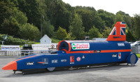 K'Nex Unveiled a Life-Sixed Replica of The Bloodhound Supersonic Car