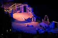 SGM's LED Spotlights Lights up UK Open-air Theatre