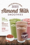 Planet Smoothie Adds Almond Milk as First Non-Dairy Option