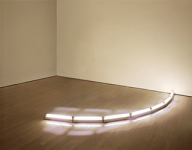 As Technology Evolved So Did Flavin's Illuminating and Colorful Designs