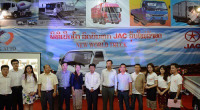 JAC Light Truck Launched Press Conference Was Hold in Vientiane Phathatluang Square Laos