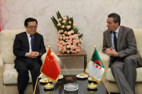 Chinese Commerce Minister Gao Hucheng and his Algerian Counterpart Amara Benyounes Co-chair the 7th China-Algeria Joint Commission of Economy and Trade