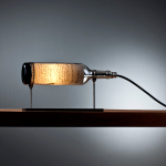 This Collection of Wine Bottle Table Lamps Was Designed in 2012 by Designer John Meng