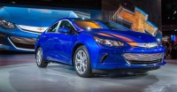 2016 Volt Electric Car Featuring Sleek Sporty Design and All-Electric Range of 50 Miles