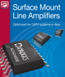 Anadigics Has Launched Three New Surface-Mount Line Amplifiers