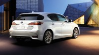 Lexus CT200h Has Been Unveiled at The Guangzhou Motor Show in China