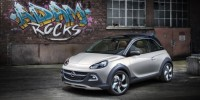City Car Crossover Concept Is Released by Opel Adam Rocks