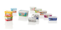 RPC Bramlage Introduces a Set of in-Mould Label Containers and Lids for Spreads and Yellow