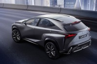 The First Appearance of Lexus LF-NX Turbo's 2.0-Litre Twin-Scroll Petrol Engine