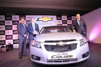 New Chevrolet Cruze Is Unveiled by GM India