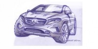 Design Sketches of The Upcoming Mercedes-Benz Gla-Class Have Been Unveiled