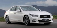The First Diesel-Powered Infiniti Q50 Has Been Revealed at The 2013 Geneva Motor Show.