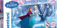 Clementoni Has Expanded Its Disney's Frozen Offering with a New Frozen Gem Puzzle