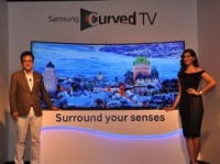 Samsung Launched Its 2014 Curved TV Range of Full-HD and 4k UHD Curved LED Tvs in India
