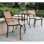 Bistro Sets Offer a Myriad Variety of Outdoor Dining Options Adding Beauty to Your Lawn
