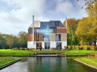 Incredible New Manor House with Many Facades