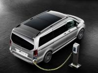 Mercedes Unveiled Its Plug-in Hybrid Concept V Ision E Sprints Minivan