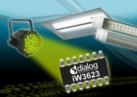 Dialog Semiconductor Output Power up to 45W SSL LED Drivers