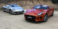 The First Time The Jaguar F-Type Mounts a Fierce Challenge to The Porsche Boxster